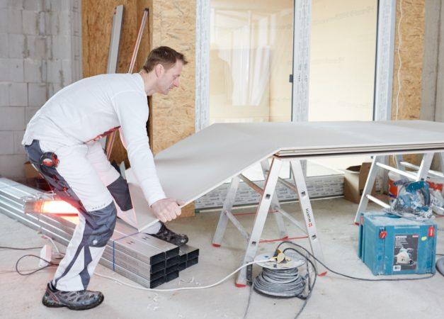 trockenbauplatte habito von rigips richtig verarbeiten tipps und tricks. Black Bedroom Furniture Sets. Home Design Ideas