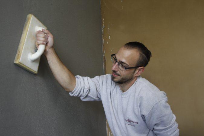Super Wie man Putz aus Lehm verarbeitet - Das Portal für Heimwerker YN43